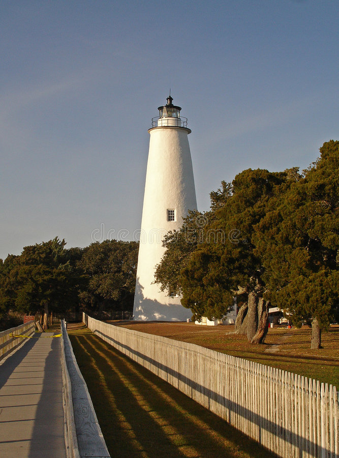 Phare d'Ocracoke photos stock