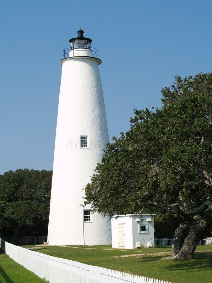 Phare d'Ocracoke image libre de droits