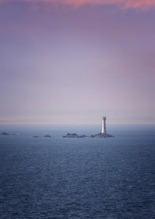 Phare dans Guernesey photos stock