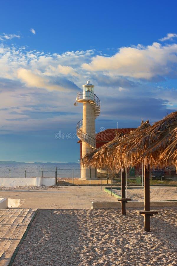 Phare dans Zadar photographie stock