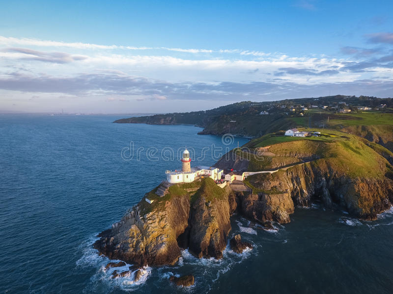 Phare de Baily Howth l'irlande