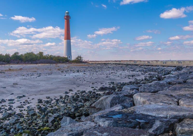 Phare de Barnegat, New Jersey images libres de droits