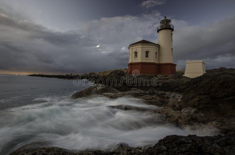 Phare de côte de l'Orégon photographie stock libre de droits