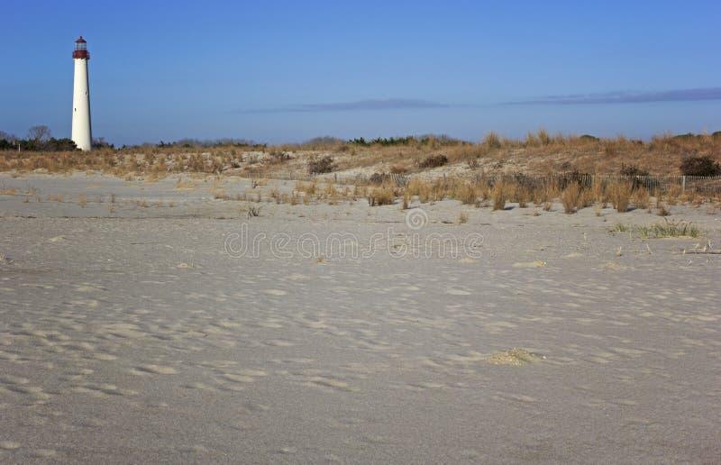 Phare de Cape May dans le New Jersey. images libres de droits
