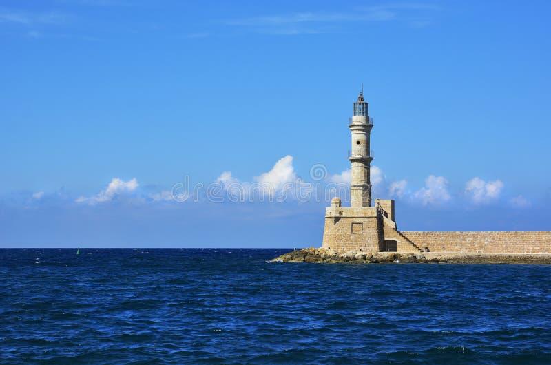 phare de Crète image stock