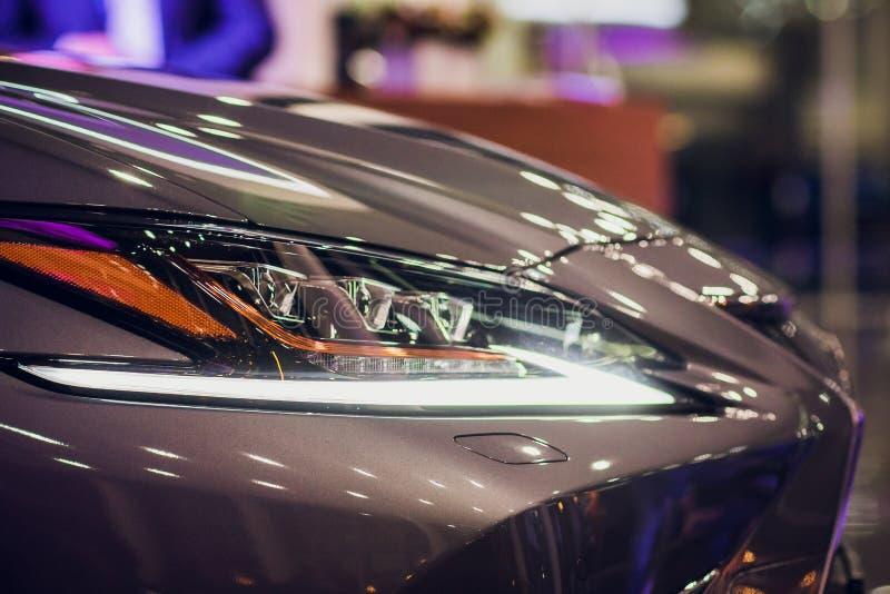 Phare de fin prestigieuse moderne de voiture  photographie stock