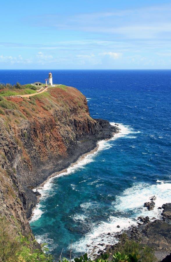 Phare de Kilauea photos libres de droits