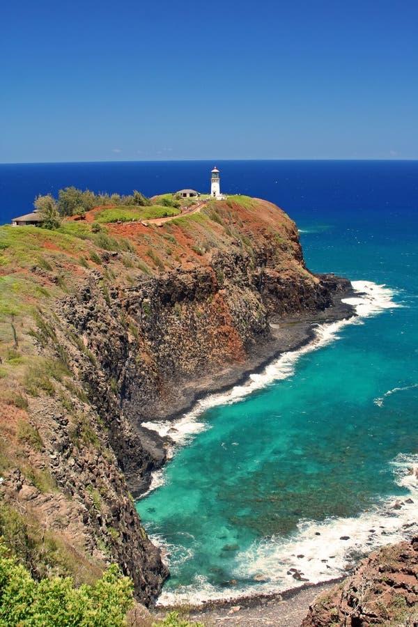 Phare de Kilauea photo stock