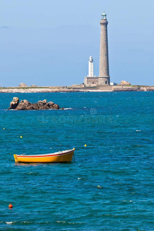 Download Phare De L'Ile Vierge - Lighthouse In Brittany Stock Photo - Image: 28926344