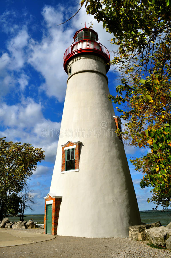 Phare de Marblehead - Ohio photos libres de droits