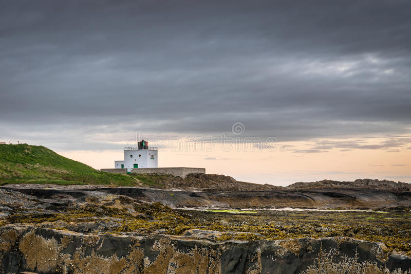 Phare de point de Blackrocks images libres de droits