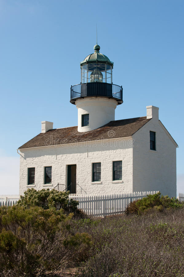Phare de Point Loma images stock