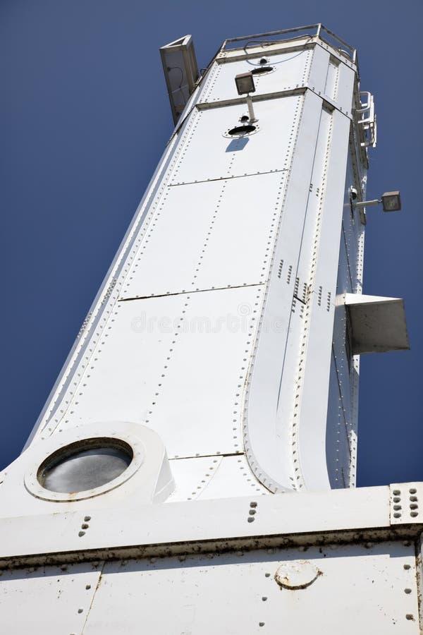 Phare de port d'Huron images libres de droits