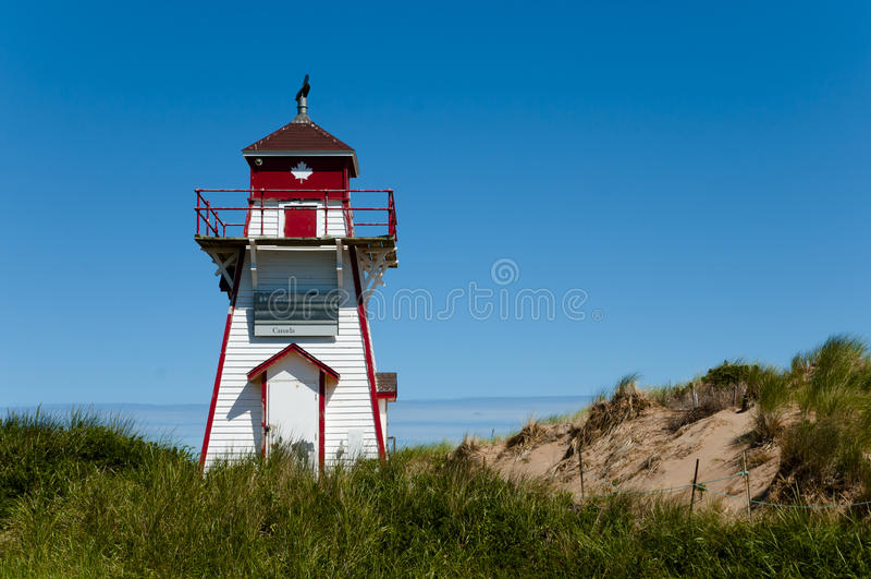 Phare de port de Covehead - prince Edward Island - Canada image libre de droits