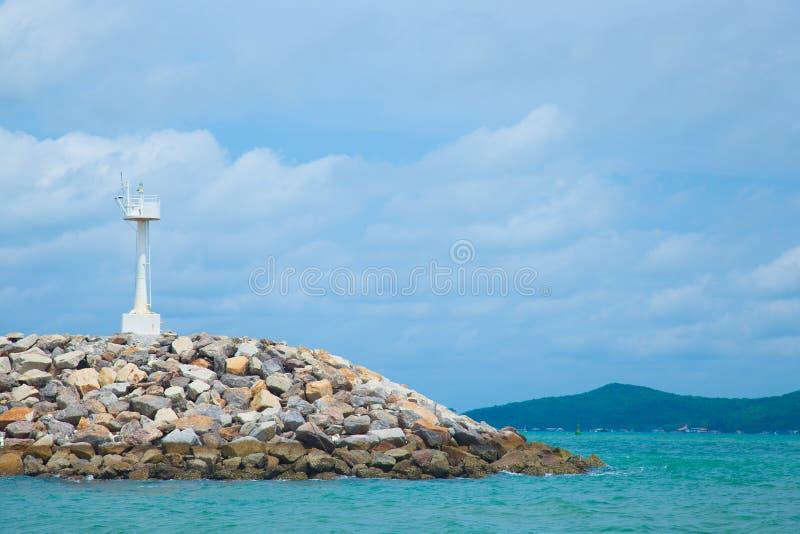 Phare de régions côtières. photos stock