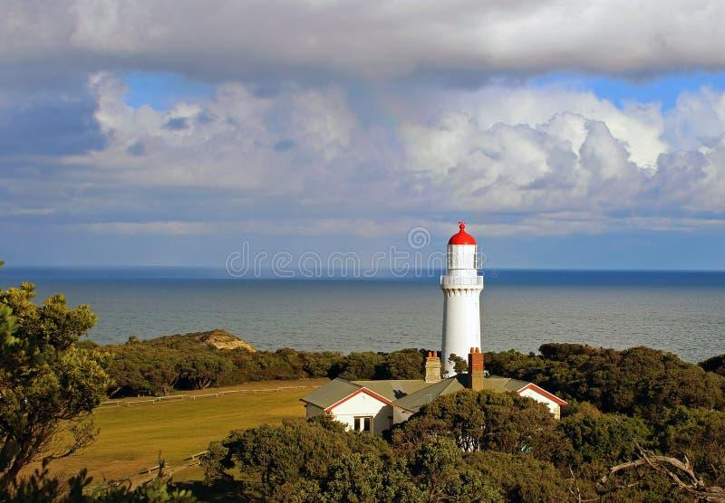 Phare de Schanck de cap, Australie photos libres de droits