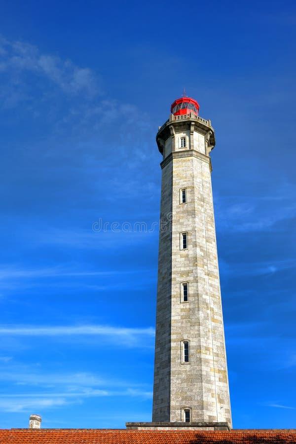 PHARE des Baleines Lighthouse Ile de Re Γαλλία στοκ φωτογραφίες με δικαίωμα ελεύθερης χρήσης