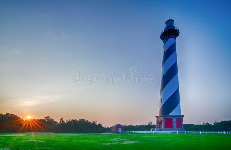 Phare du Cap Hatteras, banques externes, la Caroline du Nord photographie stock