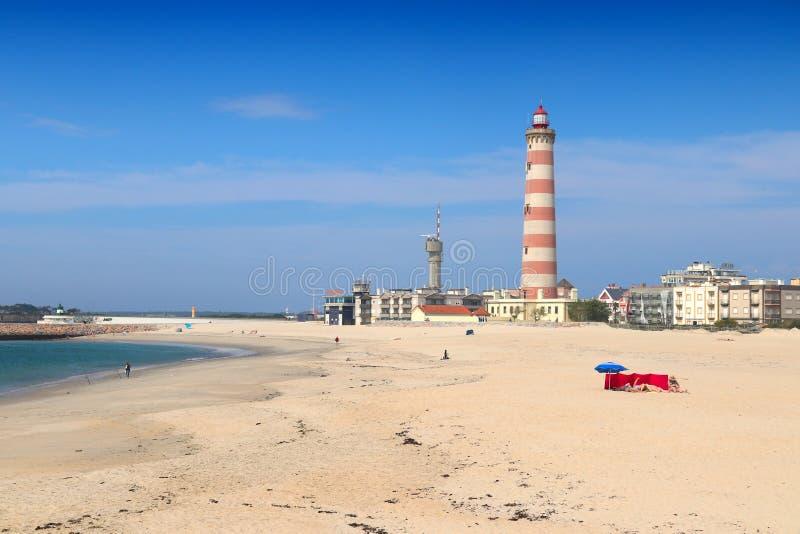 Phare du Portugal - du Barra image stock