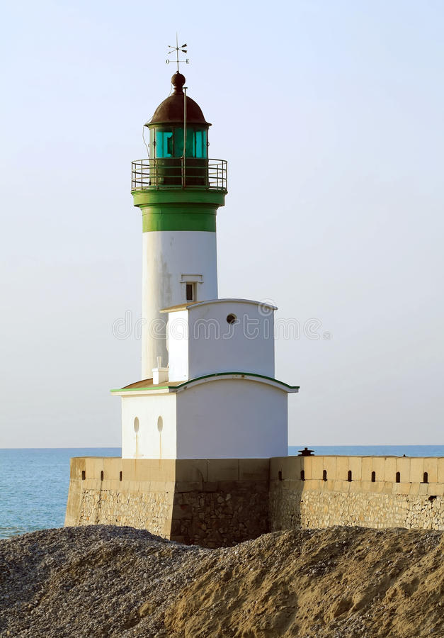 Download Phare Du Treport, Lighthouse In Normandy Stock Photo - Image: 18847976