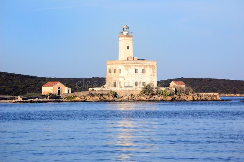 Phare en Sardaigne image stock