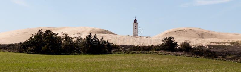 Phare et dunes photo libre de droits
