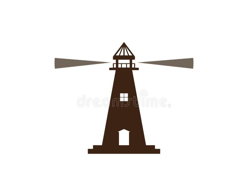 Phare Logo Template illustration stock