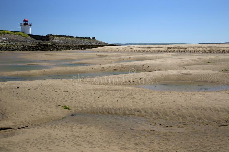 Download Phare, port Burry photo stock. Image du héron, estuaire - 56482174