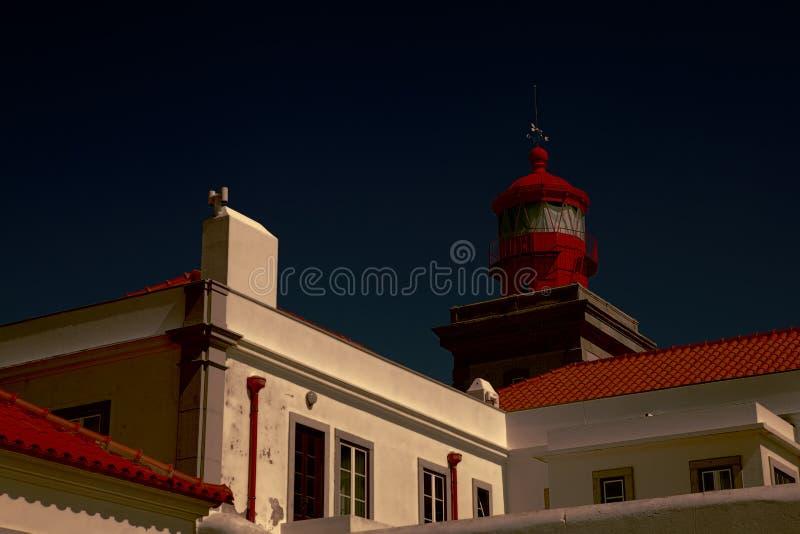 Phare, Portugal Cabo DA Roca image libre de droits