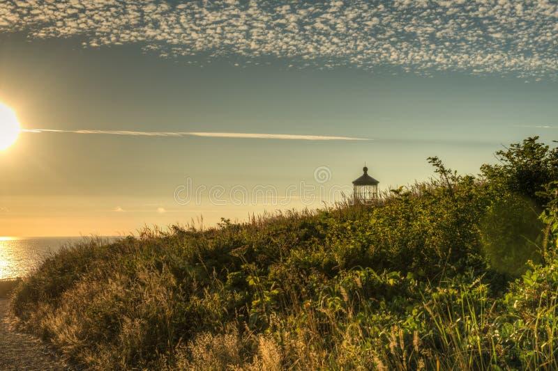Phare principal du nord sur Washington Coast du sud photographie stock libre de droits