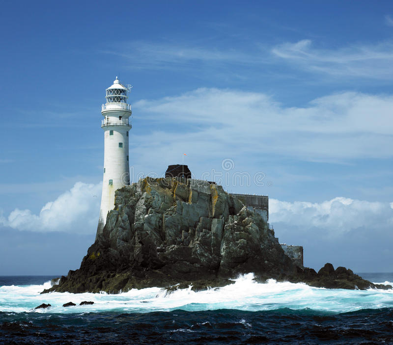 Phare, roche de Fastnet photo libre de droits