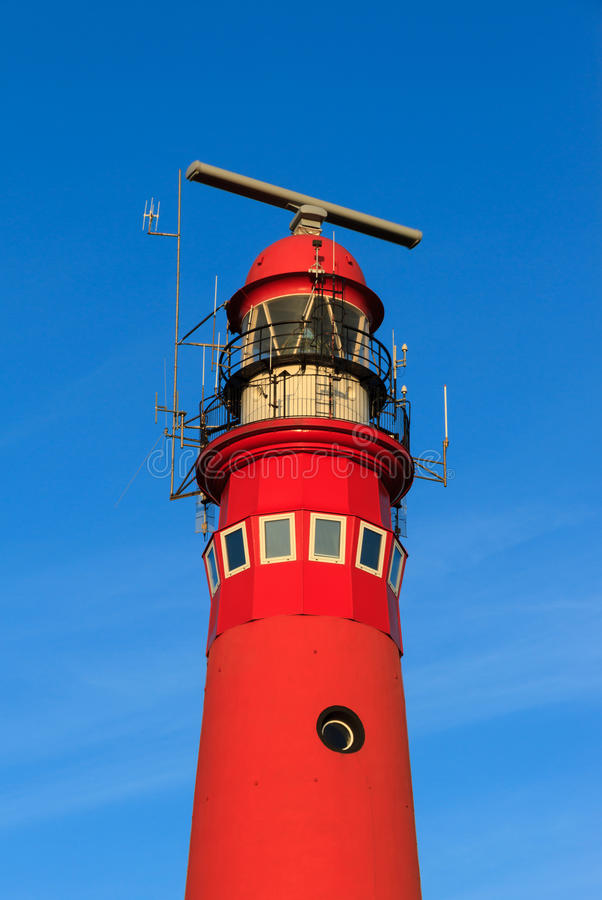 Phare rouge photos stock