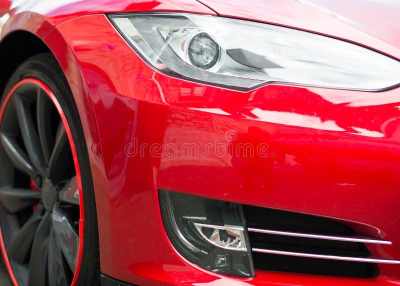 Phare rouge de voiture de sport photo libre de droits
