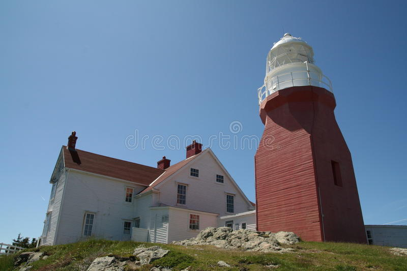 Phare Twillingate photographie stock