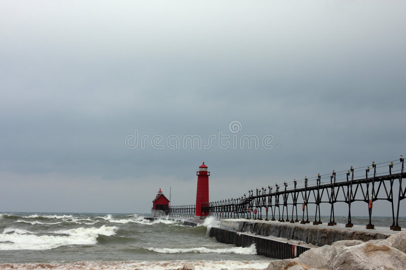 phares de Great Lakes photographie stock libre de droits