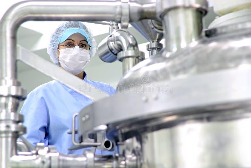 Pharmaceutical Equipment royalty free stock photos