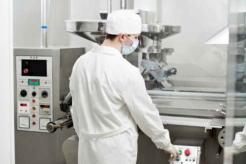 Download Pharmaceutical Factory Worker Stock Image - Image: 22384947