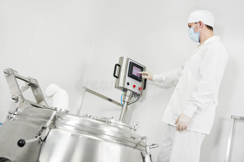 Download Pharmaceutical Factory Worker Royalty Free Stock Photo - Image: 22545785
