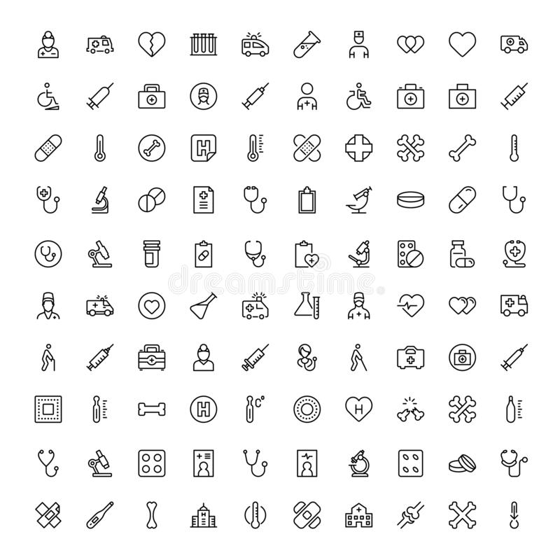 Pharmaceutical flat icon. Pharmaceutical icon set. Collection of high quality black outline logo for web site design and mobile apps. Vector illustration on a royalty free illustration