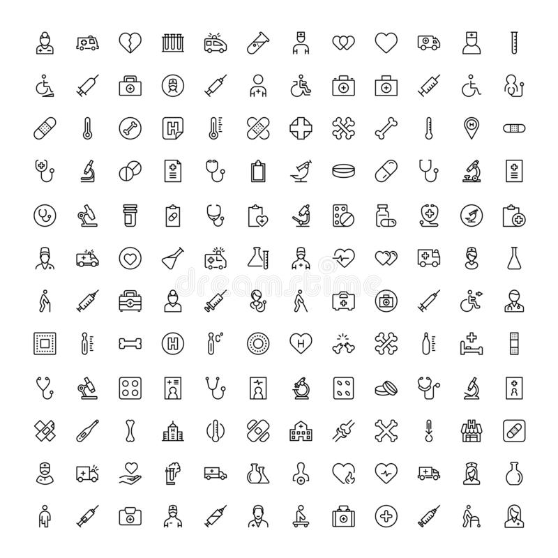 Pharmaceutical flat icon. Pharmaceutical icon set. Collection of high quality black outline logo for web site design and mobile apps. Vector illustration on a vector illustration