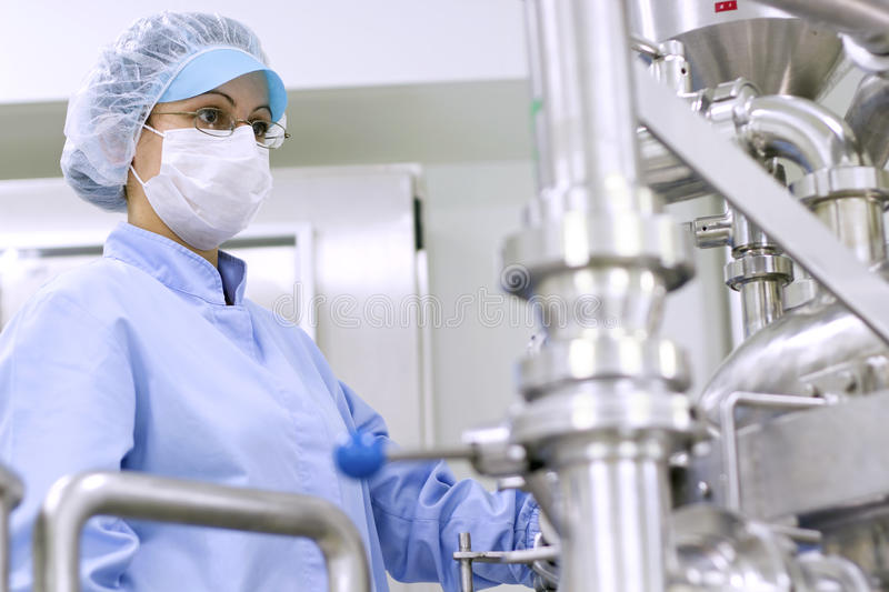 Pharmaceutical Manufacturing Technologist royalty free stock photography