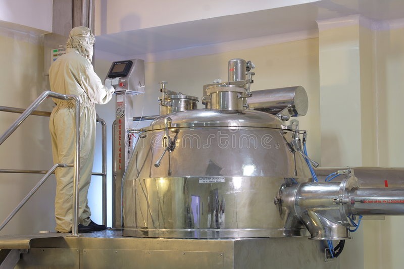 Download Pharmaceutical Plant Royalty Free Stock Photo - Image: 2106455