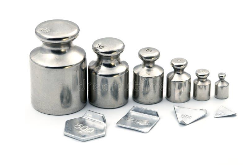 Pharmaceutical scales stock image