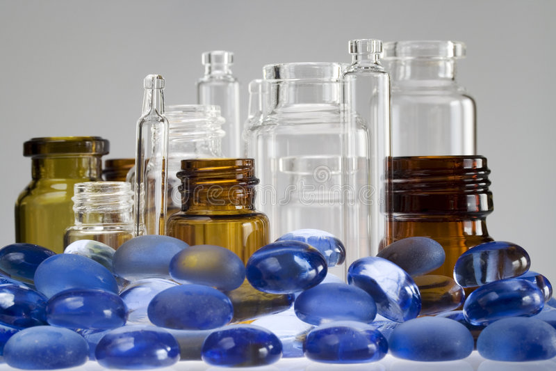 Download Pharmaceutical vials II stock image. Image of pharmaceutical - 4477845