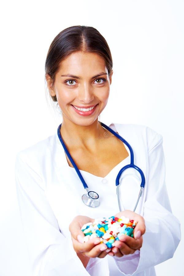 Pharmaceutist image stock
