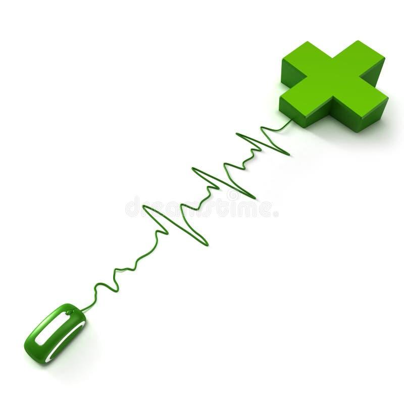 Pharmacie en ligne illustration de vecteur