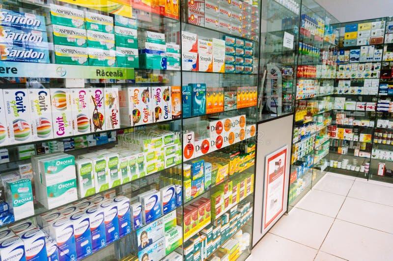 Pharmacie en Roumanie image libre de droits
