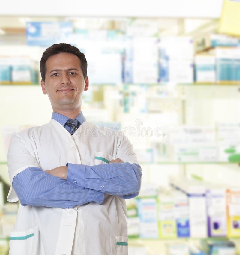 Pharmacien photo stock