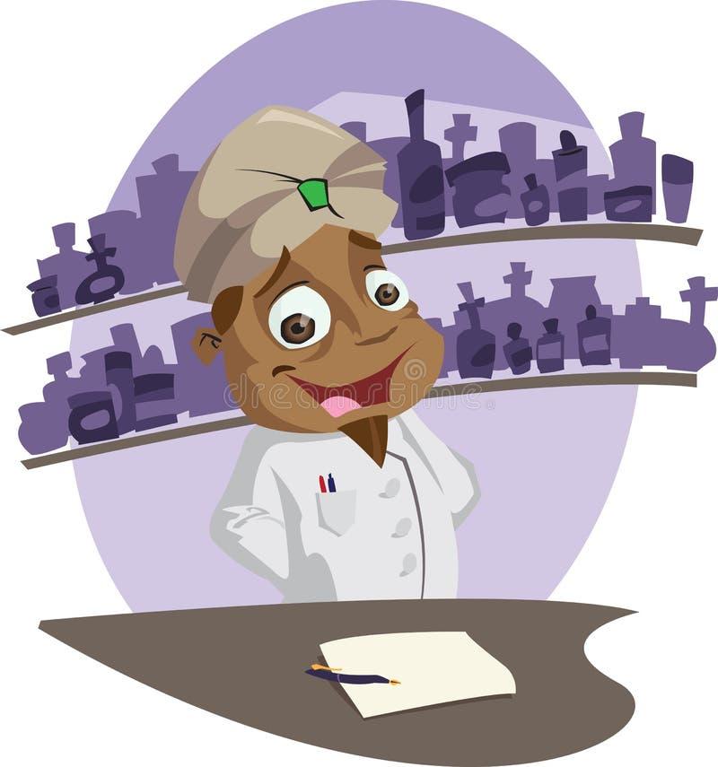 Pharmacien image stock
