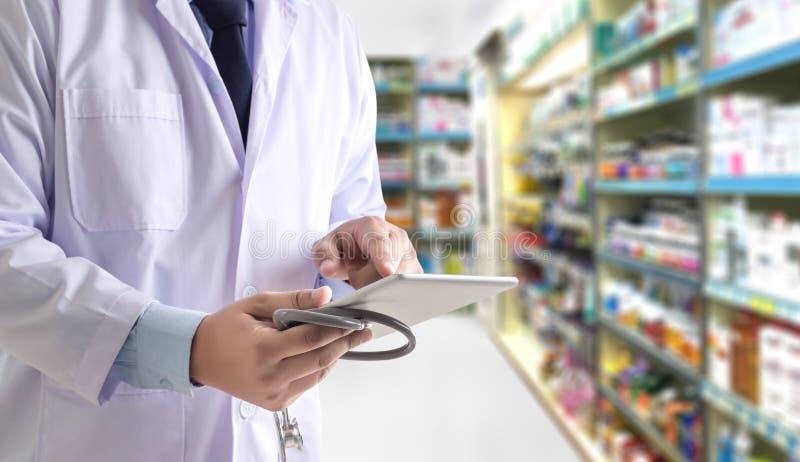 The pharmacist working pharmacy technician drugstore healthcare stock images
